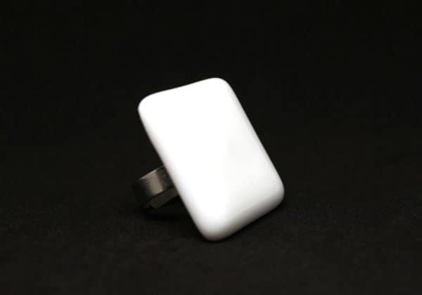 Nyíri Andrea simple giant fehér gyűrű