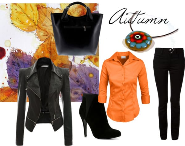 autumn polyvore set